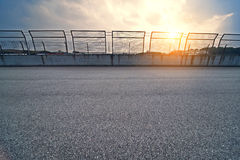 Formula One racing track Royalty Free Stock Images