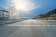 Formula One racing track Stock Photography