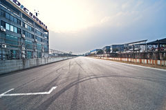 Formula One racing track Stock Photos