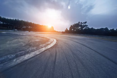 Formula One racing track Royalty Free Stock Photo