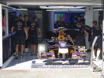 Formula One Red Bull Racing car  - F1 Photos Stock Photography