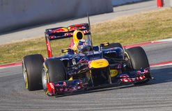 Formula One - Red Bull Stock Images