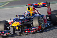 Formula One - Red Bull Royalty Free Stock Photography