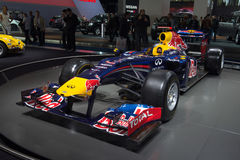 Formula one Renault team car Stock Images