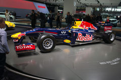 Formula one Renault team car Royalty Free Stock Image