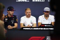 Formula One Spain Grand Prix royalty free stock photos