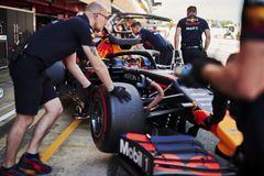Formula One Spain Grand Prix. 10th May 2019, Circuit de Barcelona-Catalunya, Barcelona, Spain; Formula One Grand Prix of Spain, Friday free practice; Max royalty free stock photography
