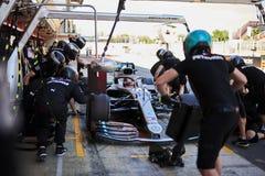 Formula One Spain Grand Prix stock photography