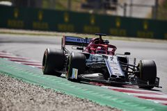 Formula One Spain Grand Prix royalty free stock images