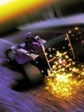 Formula One sparks Royalty Free Stock Photos