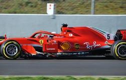 Formula One Test Days 2018-Circuit Barcelona Stock Photo