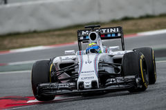 FORMULA ONE TEST DAYS - FELIPE MASSA Royalty Free Stock Photo