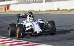 FORMULA ONE TEST DAYS - FELIPE MASSA Stock Images