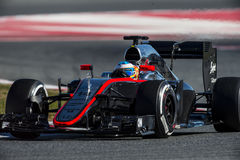 FORMULA ONE TEST DAYS - FERNANDO ALONSO Stock Image