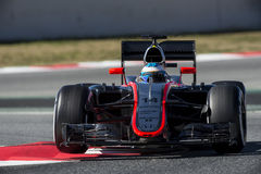 FORMULA ONE TEST DAYS - FERNANDO ALONSO Stock Images