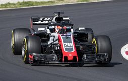 FORMULA ONE TEST DAYS 2018 - KEVIN MAGNUSSEN Royalty Free Stock Photography