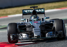 FORMULA ONE TEST DAYS - NICO ROSBERG Royalty Free Stock Image