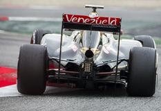 FORMULA ONE TEST DAYS - ROMAIN GROSJEAN Stock Photography