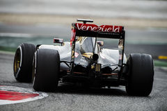 FORMULA ONE TEST DAYS - ROMAIN GROSJEAN Stock Image
