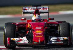 FORMULA ONE TEST DAYS - SEBASTIAN VETTEL Stock Photography