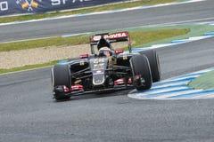 Formula 1: Pastor Maldonado Royalty Free Stock Photo