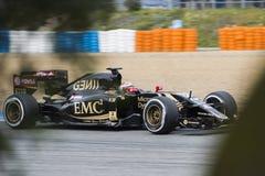 Formula 1: Pastor Maldonado Stock Photos