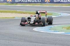 Formula 1: Pastor Maldonado Stock Images