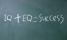 Formula per successo Immagine Stock Libera da Diritti