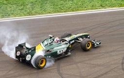 Formula 1 petrov Fotografia Stock Libera da Diritti