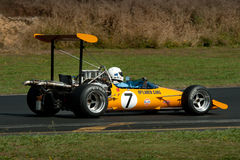 Formula 500 Race Car - McLaren M10 Royalty Free Stock Photos