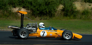 Formula 500 Race Car - McLaren M10 Stock Photos
