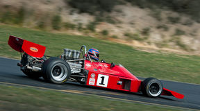 Formula 5000 Race Car - Talon MR1A -3. The 1974 Talon F5000 auto racer car that raced internationally at the hands of Chris Amon who later raced in a Ferrari F1 Stock Images