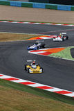 Formula 3 race in Magny-Cours Stock Photography
