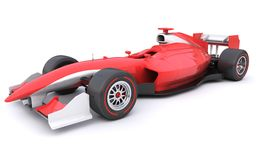 Formula race red car Royalty Free Stock Photography