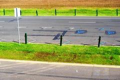 Formula 1 race track in Albert Park, Melbourne, Australia. Formula 1 race track during off-season in the Fall in Albert Park, Melbourne, Australia Stock Photography