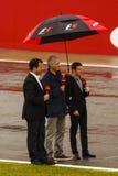 Formula 1 Racing Drivers Stock Images