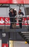 Formula 1 Racing Royalty Free Stock Photography