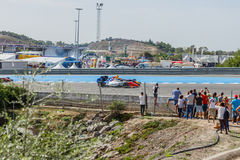 Formula Renault 3.5 Series 2014 - Start Of The Race Royalty Free Stock Photo