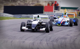Formula Renault. Event in March at Circuit park Zandvoort Netherlands stock photography