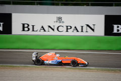 Formula Renault 2.0 car race at Monza Royalty Free Stock Photo