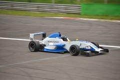 Formula Renault 2.0 car test at Monza Royalty Free Stock Photos