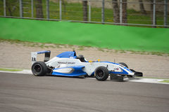 Formula Renault 2.0 car test at Monza Stock Photography