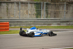 Formula Renault 2.0 car test at Monza Royalty Free Stock Image