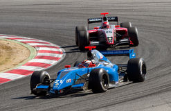 Formula Renault competition Stock Photography