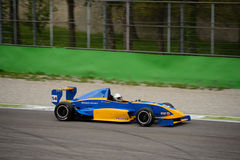 Formula Renault 2 0 prove di Tatuus a Monza Fotografie Stock