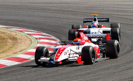 Formula Renault Race Royalty Free Stock Photography