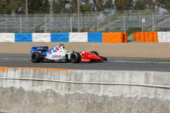 Formula Renault 3.5 Series 2014 - Oliver Rowland - Fortec Motors Royalty Free Stock Image