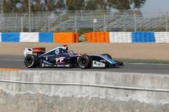 Formula Renault 3.5 Series 2014 - Oscar Tunjo - Pons Racing Royalty Free Stock Photo