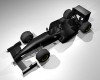 Formula render car Royalty Free Stock Image