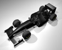 Formula render car Royalty Free Stock Image